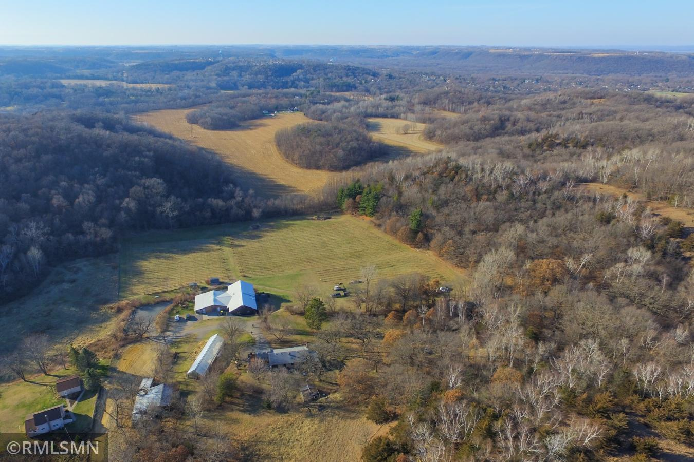 Great opportunity to own one of the last private Bluffs in the Red Wing area!